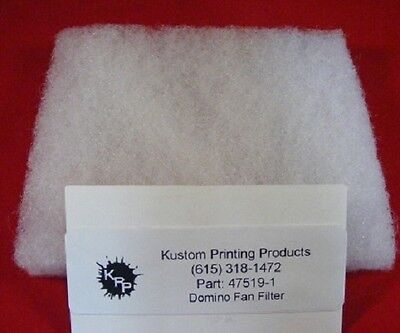 47519 Domino Fan Filter For Use With Bitjet Printer