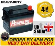 Lawn Tractor Battery