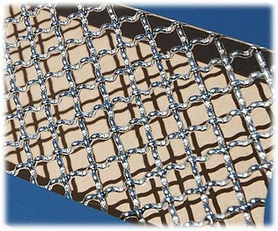 Chrome Plated Mesh Material Body Kit Grille Diamond Opening Grill (Chrome Plated Mesh Grille Grill)