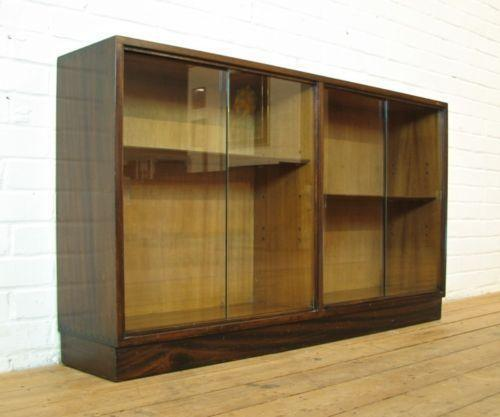 glass fronted bathroom cabinets vintage glass fronted cabinet ebay 15868