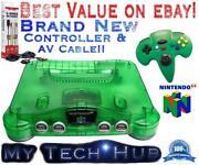 Nintendo 64 Console New