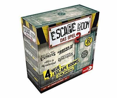 Escape Room 2 für Erwachsene, inkl. 4 Fällen und Chrono Decoder, ab 16 Jahren