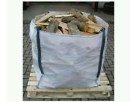 Firewood Hardwood Seasoned logs 1 cube local delivery of GU10 Farnham