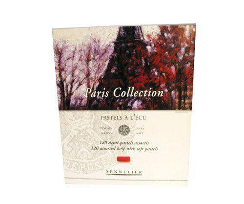 Sennelier Paris collection Half Stick Set of 120