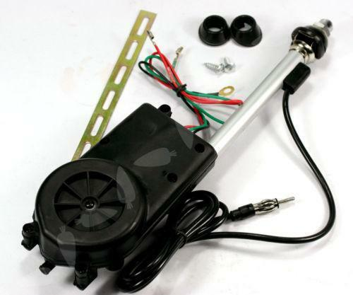Radio Shack Electric Motor Kit: Electric Car Antenna