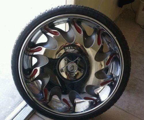 24 Rims: Wheels, Tires & Parts
