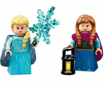 2 New Lego Minfigures FROZEN ELSA & ANNA Disney Series 2