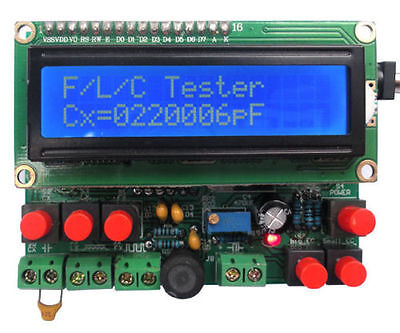 Diy Kit Led Capacitance Frequency Inductance Tester Meter 51 Microcontroller