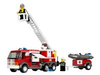 LEGO City Fire Truck (7239) + 2 mini-figures, instructions age 5+ complete