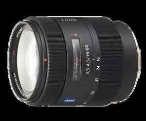 Sony SAL1680Z lens
