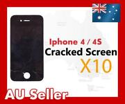 iPhone 4 Cracked Screen