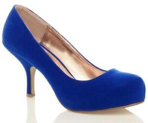 37c67d7373c7 Blue Low Heel Shoes