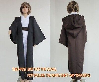 Kids STAR WARS Jedi/Sith Robe Darth Vader Hooded Cloak Cape Child Cosplay Gift