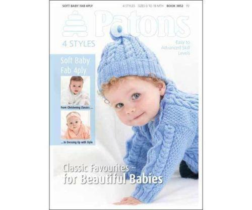 Patons Baby Knitting Patterns Ebay