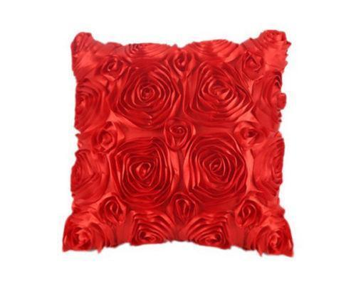 Red Floral Throw Pillows Ebay