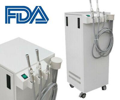 Ce 350w Dental Portable High Vacuum Suction Mobile Unit Pump 300lmin Aspirator