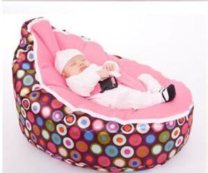 Baby Bean Bags Kids Sofa Chair Soft Snuggle Bed With Filling