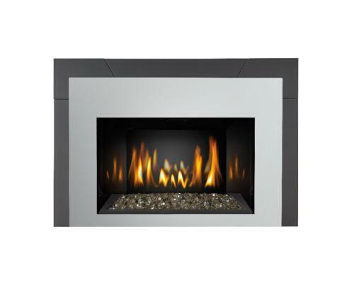 Contemporary gas fireplace ebay for Contemporary fireplace insert