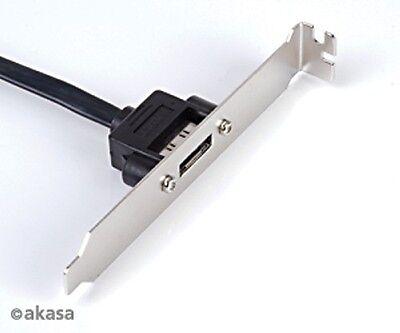 Akasa eSATA PCI Backplate -