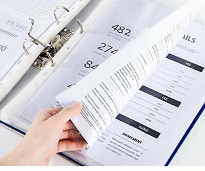 Sheet Protectors 8.5 x 11 Heavy Duty Clear Sheet Protectors Page Protectors P...