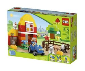 LEGO Brick Themes DUPLO My First Farm 6141, Free Shipping, New