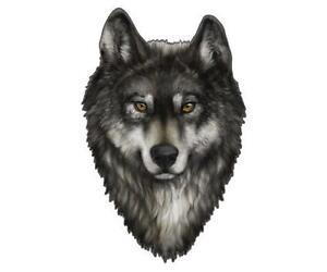 Wolf Decal Ebay