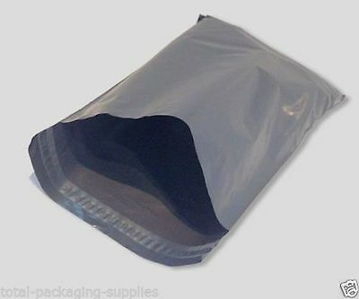 100 STRONG GREY MAILING POST MAIL POSTAL BAGS POLY POSTAGE SELF SEAL 4x6