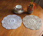 White Crocheted Doilies