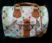 Louis Vuitton White Multicolor