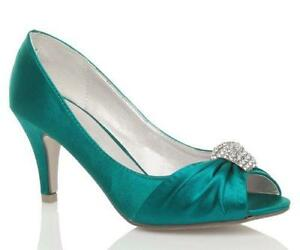 Turquoise Low Heel Shoes 6ff610a00