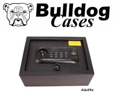 BULLDOG CASES  Gun Safe 11.8 x 8.7 x 4 Standard Digital Top Open #  BD1030