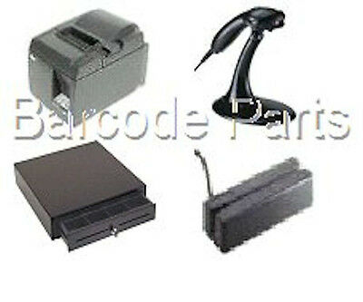 Quickbooks Pos 18.0 Star Hardware Bundle 6 Printer Scannerdrawer Mag Stripe