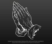 Praying Hands Sticker
