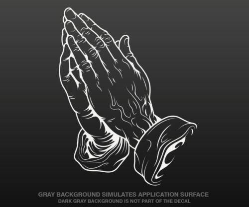 Praying Hands Sticker Ebay