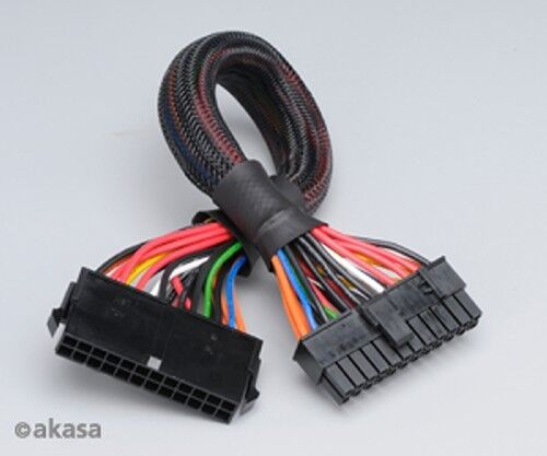 Akasa 24pin PSU cable extension AK-CB24-24EXT