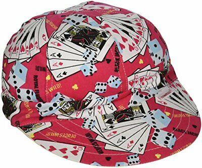 Comeaux Caps 118-4000-7-38 Short Crown Caps 7 38 Assorted Prints