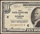 Old 10 Dollar Bill