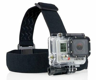 ProGear Black Head Strap Mount  for GoPro HERO 1/2/3/4/5/6/7 Session Cameras