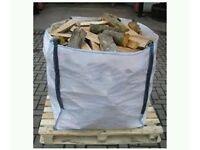 Firewood Seasoned logs 1 cube FREE local delivery of GU10 Farnham