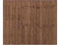 Brand New - Fence Panels, Concrete Fence Posts & Concrete Gravel Boards - Job Lot for Sale