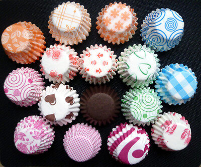 Mini Cupcake Liners (900 Colorful Mini Cupcake Liners Muffin Case Cake Paper Baking Cups Color)
