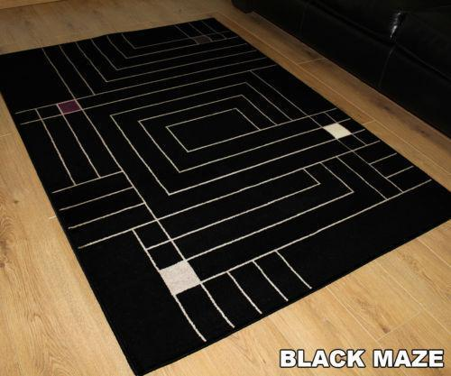 cheap black rugs ebay. Black Bedroom Furniture Sets. Home Design Ideas