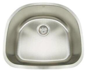 Undermount Stainless Steel Single Kitchen Sink