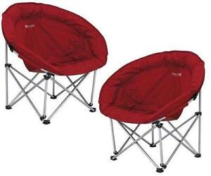 Folding Moon Camping Chairs