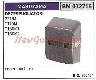 Cubierta Filtro de Aire MARUYAMA Desbrozadora 221/M T170M T180M1 T180M2 012716