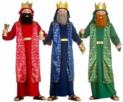 Wise Man Jungen Kostüm Kinder Weihnachten König Krippenspiel - Wiseman Kostüm Kind