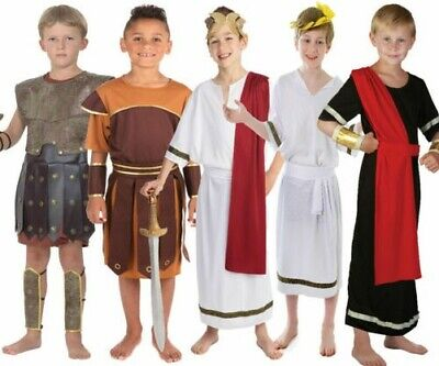 Römische General Soldat Krieger Kinder Jungen Kostüm Outfit Griechische - Kind Griechischer Soldat Kostüm