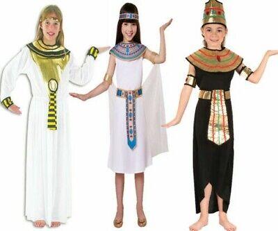 Mädchen Kleopatra Ägyptische Königin Kostüm Kostüm Ägypter Kinder Buch Tag - Mädchen Ägyptischen Königin Kostüm