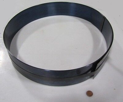 Blue Tempered Spring Steel Shim 0.062 Thick X 3.00 Width X 120 Length