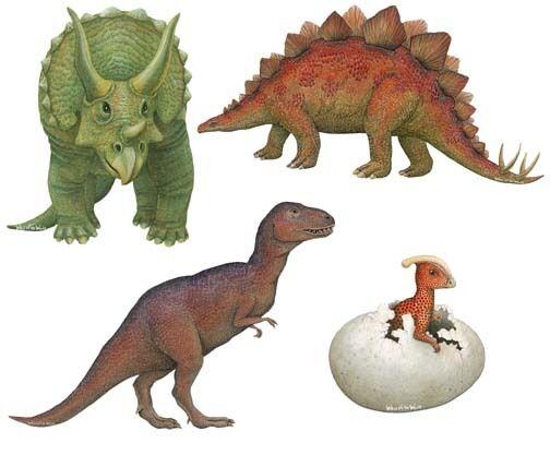 Dinosaur Wall Stickers Decals Murals
